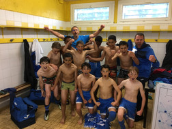 Les U13 A champion d'Aquitaine de leur poule.
