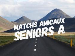 Matchs Amicaux Séniors R1