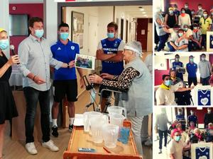 Visite à l'EHPAD Saint-Exupéry : un moment de partage avec le personnel et les résidents