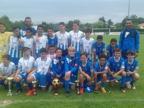 Les U12 remporte le challenge Varao.