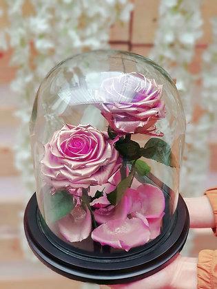 Rosa Preservada x 2