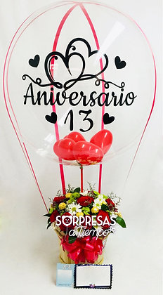 Balloon anniversary for her (B014)