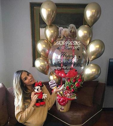 Balloon Century Roses