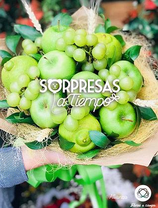 Bouquet frutos verdes (R073)