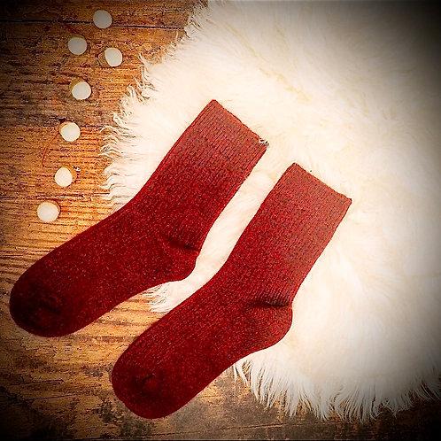 Handmade Cashmere Wool Socks