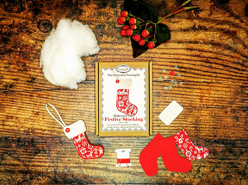 Make your own Christmas Felt Stocking Kit