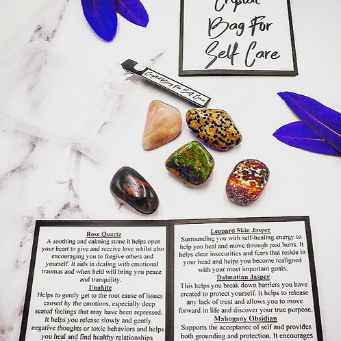 Crystal Bag for Self-Care