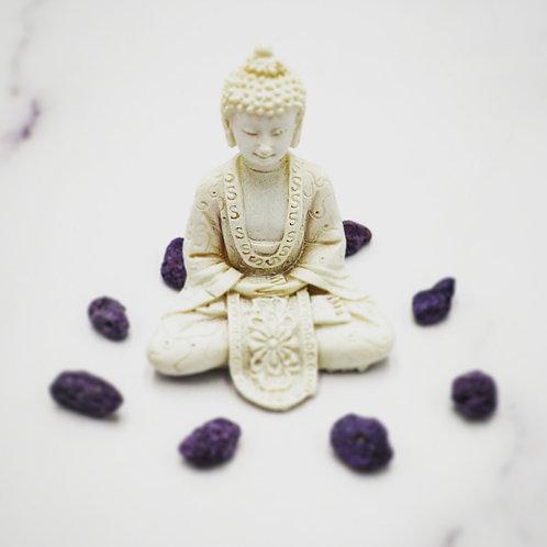 Handmade White Buddha statue
