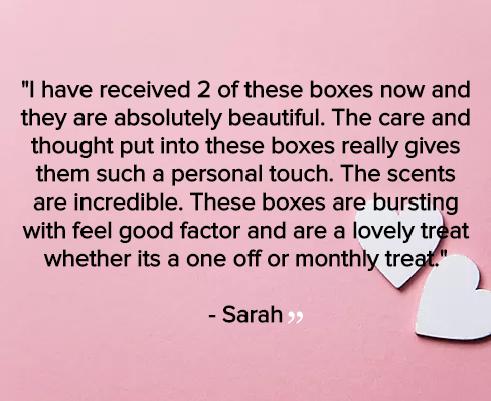 Sarah Feedback