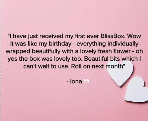 Iona feedback
