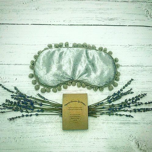 Crushed Velour and Lavender Aromatherapy Eye Pillow