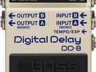 PEDAL DELAY DIGITAL BOSS