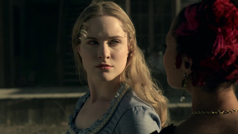 WESTWORLD   MAEVE AND DELORES