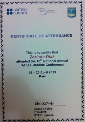 IATEFL Conference 2013