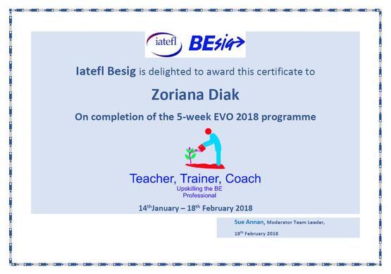 Teacher. Trainer. Coach