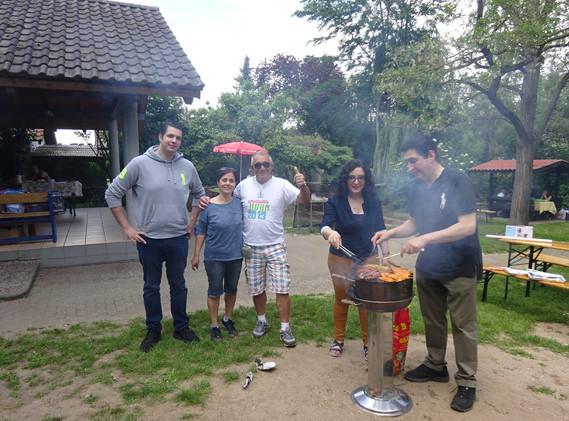 Grillfest an Christi Fimmelfahrt 2019
