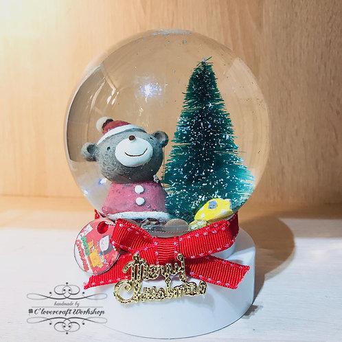 聖誕飄雪水晶球
