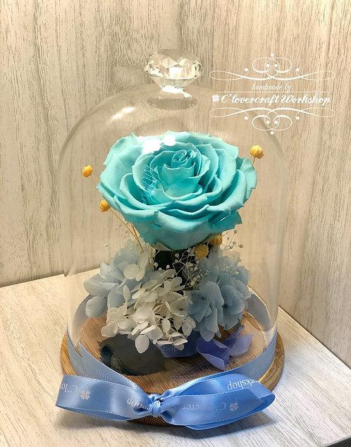 大玫瑰玻璃瓶