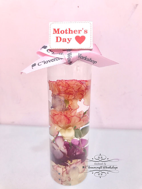 DIY FLOWER 麗乾花夢幻花系列-母親節康乃馨夢想瓶