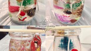 聖誕香薰果凍蠟燭工作坊