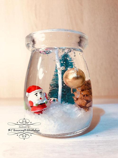 聖誕香薰果凍蠟燭班