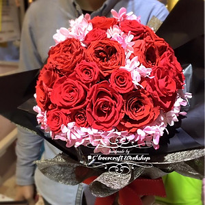 (4)保鮮花花球,手花,襟花