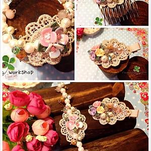 (9) 頸鏈, 手鏈, 頭飾, 飾品AS