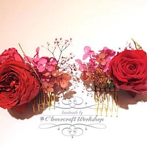 (8) 日系保鮮花頭飾