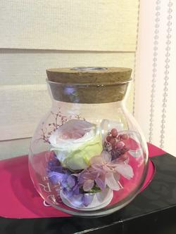 玻璃瓶小夜燈作品(小)-PF111