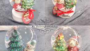 聖誕雪花瓶工作坊