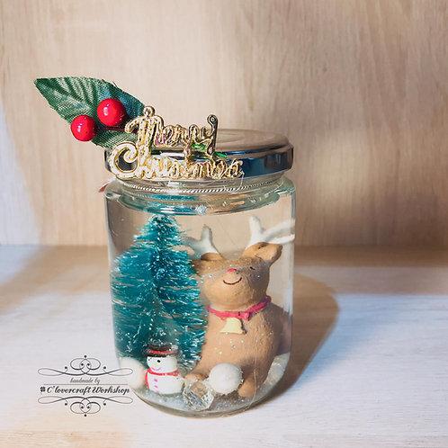 Christmas Workshop (B) - 聖誕飄雪玻璃瓶班
