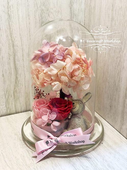 花樹玻璃瓶