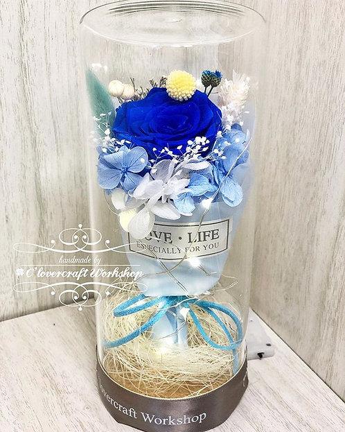 玫瑰花束高瓶