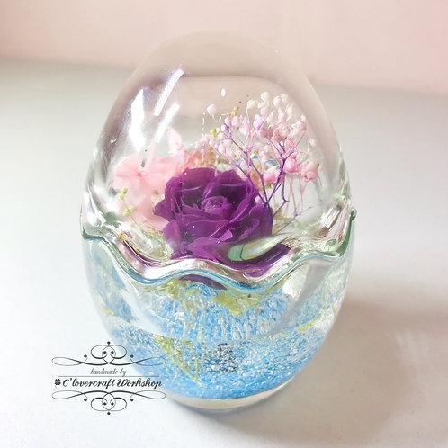 日本水漾保鮮花復活蛋工作坊