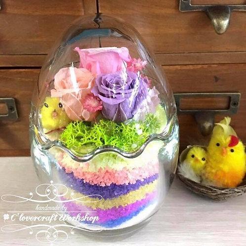 復活蛋保鮮花玫瑰
