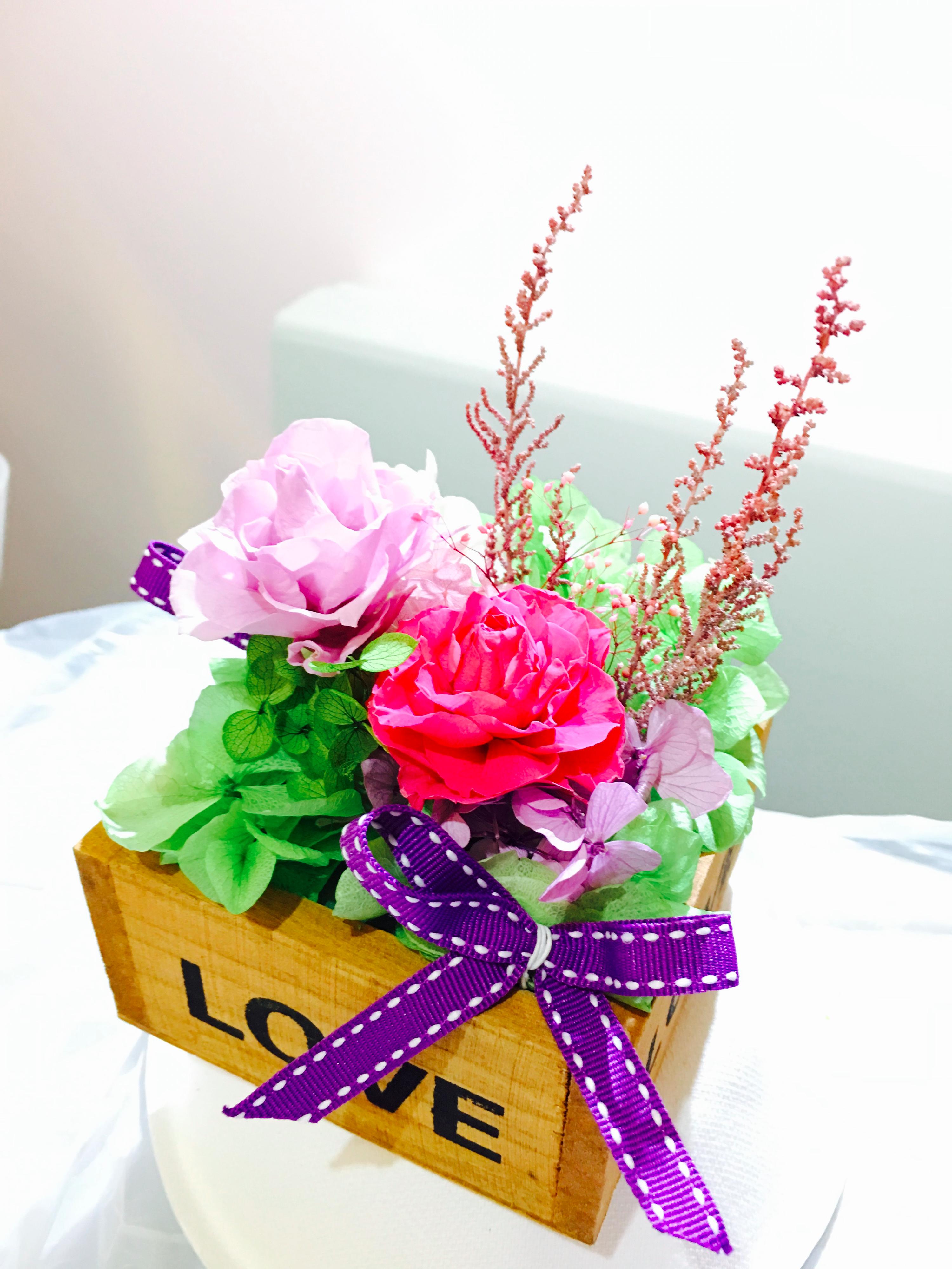 玫瑰love小木盤作品-PF113