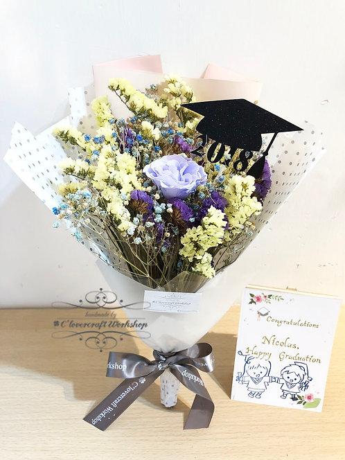 保鮮花畢業花束