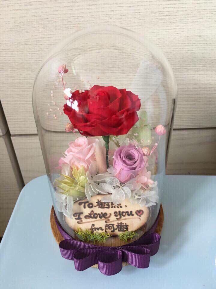 圓款玻璃瓶作品-PF115