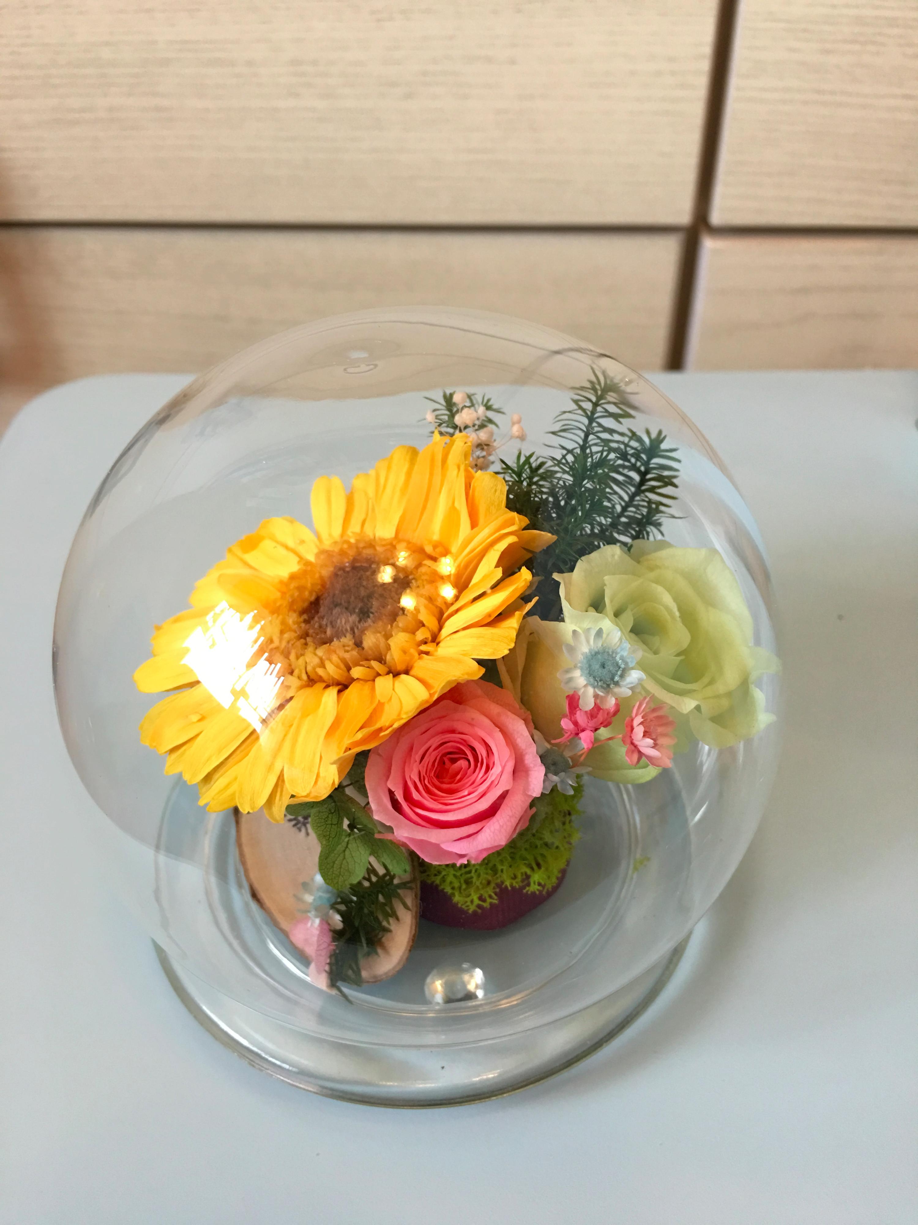 水晶球玻璃瓶作品-PF055
