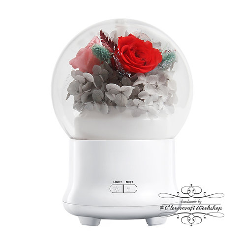Valentine's Day 情人節新設計產品 - 保鮮花香薰加濕機