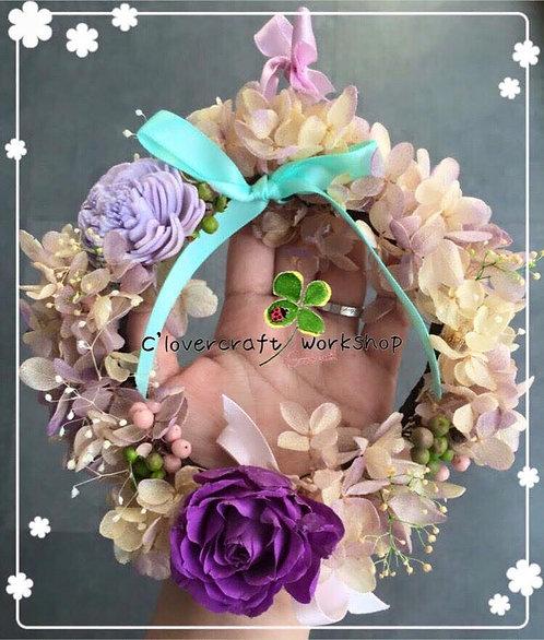 Preserved Flower 保鮮花系列~掛飾花環擺設班