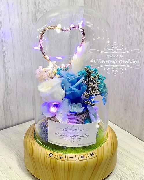 保鮮花藍芽燈座