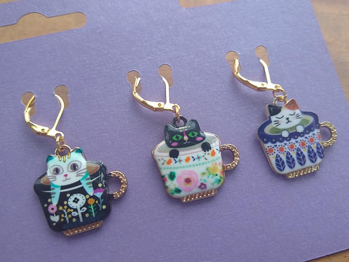 Cat Stitch Markers