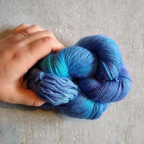 Blue Blur, Baby Alpaca DK