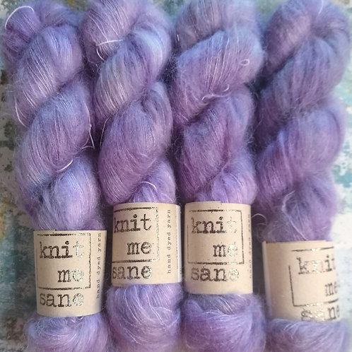 Wisteria, Mohair Silk Lace