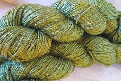 Green Apple, BFL Silk DK