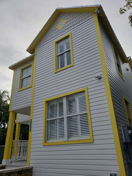 Not the original but a copy Stirrup House  3242 Charles Avenue Miami, Florida