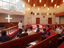 Talk by Reverend Nathaniel Robinson
