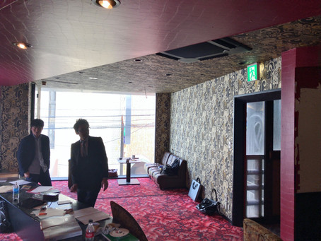 愛媛県松山市 三番町飲食店改装工事