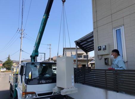 香川県善通寺市 M様邸蓄電池新設工事